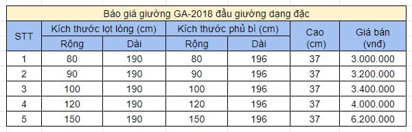 bao-gia-giuong-gap-doi-ga2018-dang-dac