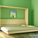 Mẫu giường gấp thông minh giá rẻ tại Hà Nội