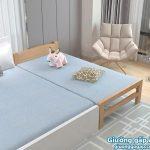 Giường gỗ gấp 1m2 đẹp cho bé
