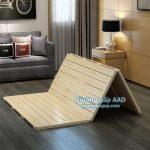 Giường gỗ gấp 3 khúc – Giường gấp 2 khúc AAD