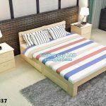 Các mẫu giường ngủ có ngăn kéo giá rẻ Hà Nội