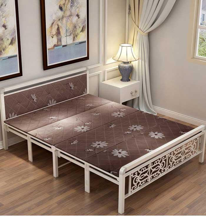 giường gấp khung kim loại