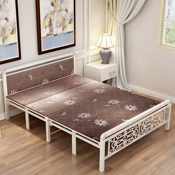 Giường sắt gấp 1m
